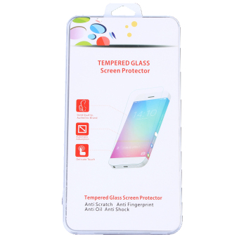 Screen Tempered Glass with Rear Plastic Film Protector for PS Vita 2000 (EXPORT)