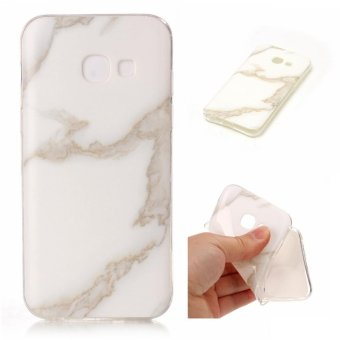 Harga Fashion Marble Case for Samsung Galaxy A3 2017 A320 Back Covers Soft Silicone TPU Case IMD Printed Back Covers - intl