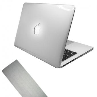 "Harga Crystal Hard Plastic Protective Case + Keyboard Cover for Apple 15"" MacBook Pro Retina Laptop - Clear"