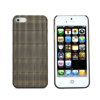 Harga Fashion Transparent Soft Thin silica gel Case Cover for Apple iPhone 5 5s (Black) - Intl