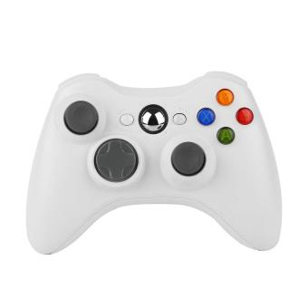 Harga CHEER Wireless Shock Game Controller For Microsoft xBox 360 xBox360 (White)