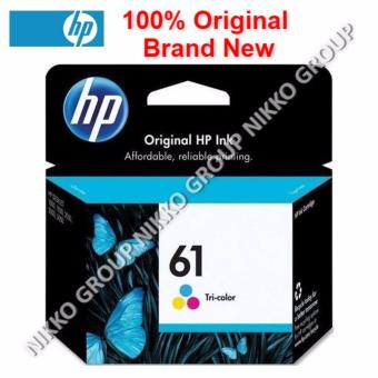 Harga [Original] HP 61 Color Ink Cartridge for HP Printer Deskjet / Officejet / Envy