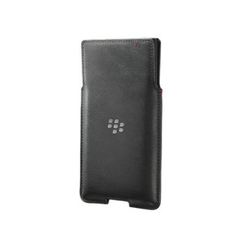 BlackBerry PRIV Leather Pocket (BLACK)