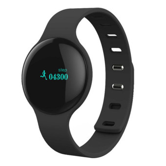 Harga BLN H8 Sport Bracelet Band with Pedometer Step Calories Count Intelligent Sleep Monitor Call SMS Remind (Black)(Export)(Intl)
