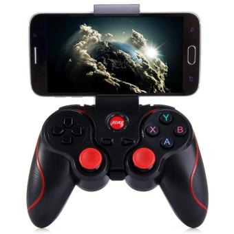Harga Terios T3 Wireless Bluetooth 3.0 Gamepad Joystick Controller for Android Smartphone - intl