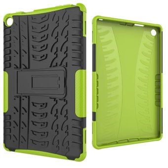 TPU + PC Armor Hybrid Case Cover for Amazon Kindle Fire HD 8 2016 (Green) - intl