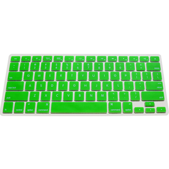 Silicone Keyboard Cover Skin for Apple Macbook Pro MAC 13 15 17 Air 13 (Green)