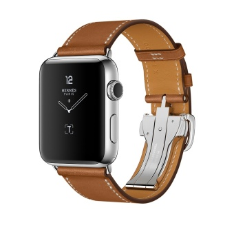 Apple Watch Band, 42mm Venter® Luxury Genuine Leather watch Band strap Bracelet Replacement Wrist Band for 42mm Apple Watch - intl