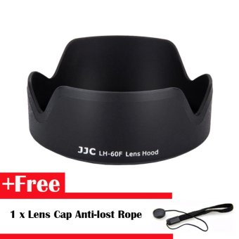 Harga JJC Lens Hood Replacement Canon EW-60F for EF-M 18-150mm f/3.5-6.3 IS STM Lens - intl