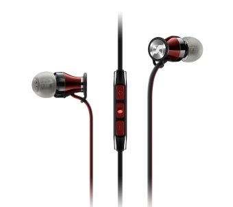 Harga Sennheiser MOMENTUM In Ear RED Chrome M2 IEG Headphones Earphone Headset For Android - intl