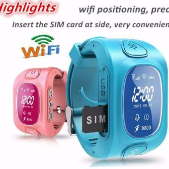 Harga 2Cool Children Smart Watch with Phone Call Anti Lose GPS Camera Kids Watch - intl