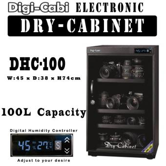 Harga DHC-100 | 100L Digi Cabi Electronic Dry Cabinet | 5 Years Warranty |