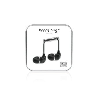 Harga Happy Plugs In-Ear Black Marble