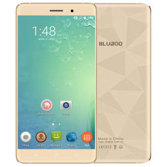 Harga Original BLUBOO Maya 5.5 inch HD 3G Smartphone Android 6.0 2GB+16GB 8.0MP+13.0MP Gold