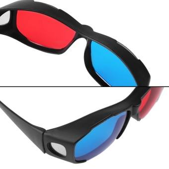 Allwin Universal Type 3D Glasses/Red Blue Cyan 3D glasses Anaglyph 3D Plastic Glasses