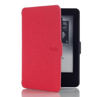 Harga New Leather Ultra Thin Smart Cover for Kindle (7th Generation 2014 Model)(Red)