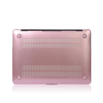 Harga Metal Shell Protective Case For Apple Mac-book Air 11.6 Inch (Pink) - Intl