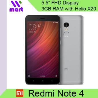 Harga Xiaomi Redmi Note 4 3GB RAM 64GB Export International ROM