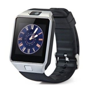 Harga DZ09 Bluetooth Smart Watch with Build-in SIM Card and Micro SD Card