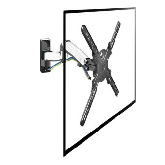 Harga AVR F450 Gas Strut Full Motion TV Wall Mount for Display up to 50""