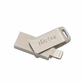 Harga 64GB 64GB 64GB iDrive Reader iFlash Faster External Storage USB Flash USB 3.0 for for iPhone6 (silver)
