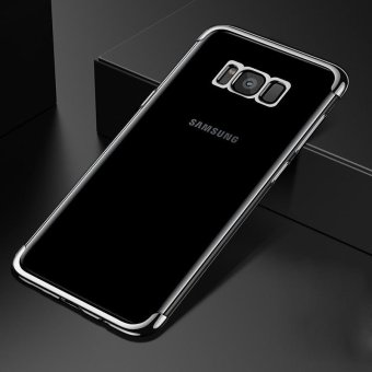 Harga For Samsung Galaxy S8 Plus Clear Soft Tpu Phone Case Luxury Ultra Thin Plating Crystal Transparent Shockproof Phone Cover Silicone Case for Samsung GalaxyS8 PLUS /Samsug S 8PLUS /SAMSUNGS8PLUS/samsung galaxy s8 plus/samsungs8plus/Samsung galaxy S8+ - intl
