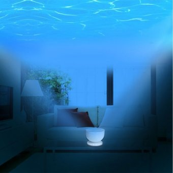 Harga Ocean Waves Projector Lamp Projection 8Modes ,Ocean Lamp Music Projection