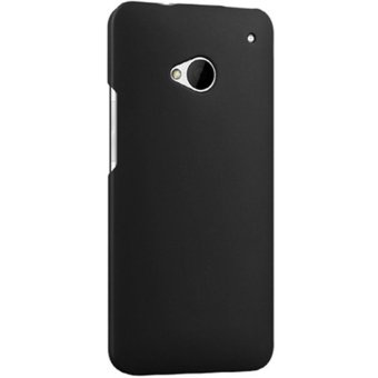 Harga Pc Back Cover for HTC One M7 Black (EXPORT)