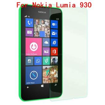 9H Tempered Steel Glass Ultra-thin HD Scratch-proof Film Screen Protective For Nokia Lumia 930 - intl