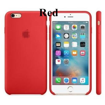 Silicone Protect Back Cover Case For iPhone 6 Plus / 6s Plus (Red)