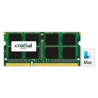 Harga Crucial 8GB DDR3L 1866MHz SO-DIMM Memory for Mac Module (CT8G3S186DM) - See Compatibility Chart