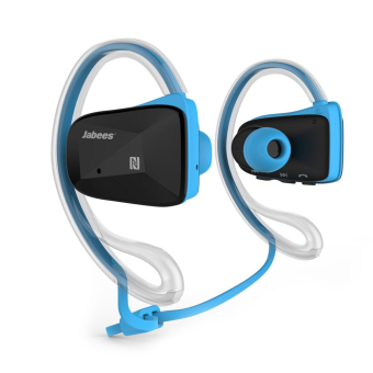 Harga Jabees 4 Color Bluetooth Wireless Sports Stereo Waterproof Swimming Headset - intl