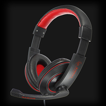 Harga PC Gaming Stereo Headphone With Mic Microphone For Skype MSN Chat(Export)(Intl)