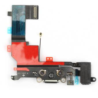 Harga Charging Dock Port Connector with Flex Cable for iPhone 5S