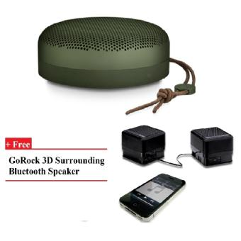 Harga B&O PLAY A1 Portable Speaker (Moss Green) + GR
