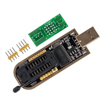 Harga New CH341A Series Chip 24 EEPROM BIOS Writer 25 SPI Flash USB Programmer - intl