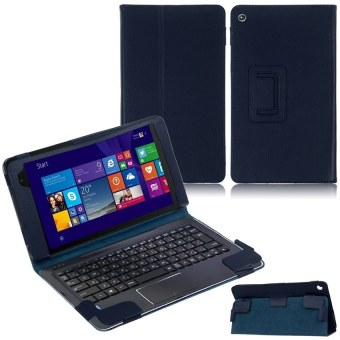 "Harga HKS Leather Case for ASUS Transformer Book T90 Chi 8.9"" T1 T100 Chi 10.1"" Tab (Dark Blue) - intl"