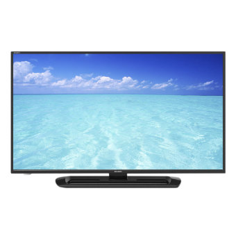"Harga Sharp 40"" Full HD LED TV (Black) LC40LE265M"