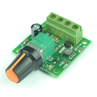 Harga Low Voltage DC 1.8V 3V 5V 6V 12V 2A PWM Motor Speed Controller