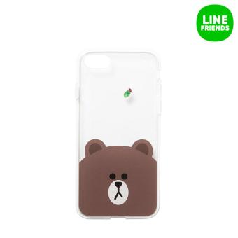 Harga IPHONE7 JELLY CASE_BROWN&EDWARD