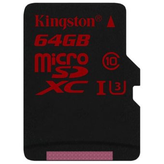 Harga Kingston microSDXC 64GB UHS-I U3 90R/80W Memory Card