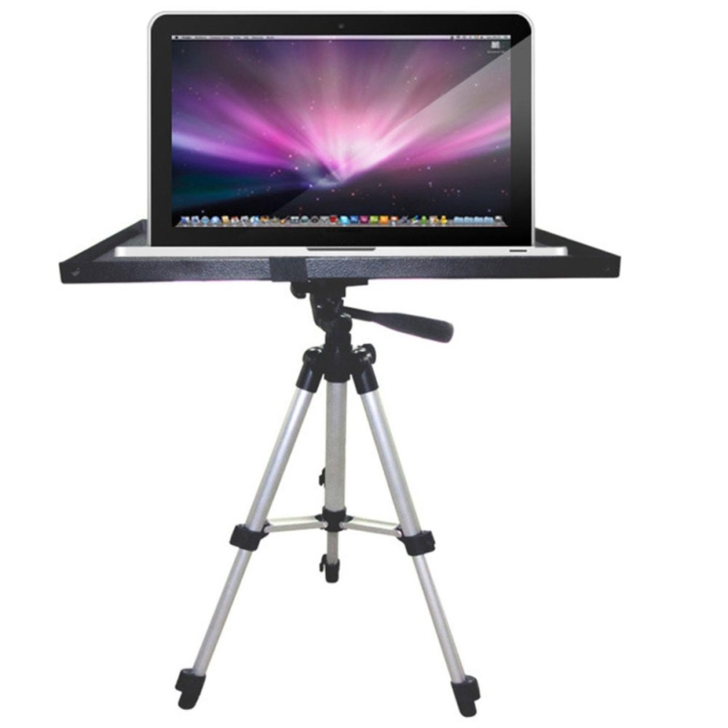 Laptop Notebook Projector Monitor Tray Holder for 1/4 Screw Tripod Stand - intl