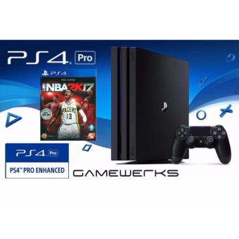 [Local] PS4 PRO NBA2K17 Bundle (15 Months Local Sony Warranty)