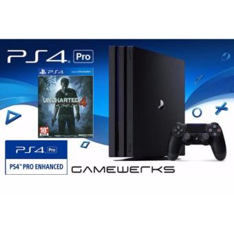 [Local] PS4 PRO Uncharted 4 Bundle (15 Months Local Sony Warranty)