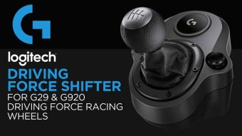 Logitech Driving Force Shifter For G29 And G920 Driving ForceSteering Wheel