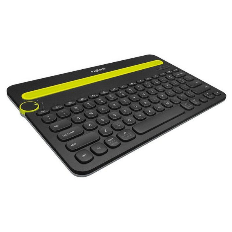 Logitech K480 Black Bluetooth Multi-Device Keyboard Singapore