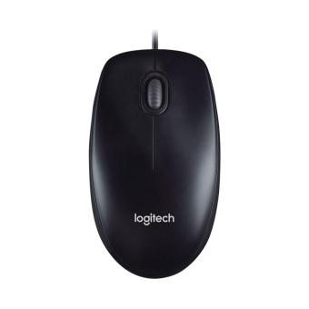 LOGITECH M100R USB Wired Mouse Black