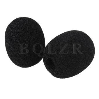 Loudspeaker Lapel Microphone Wind Shield Mic Sponge EY-M05 Set of10 - 2