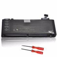 MacBook Pro 13-inch Unibody (Mid 2009 to Mid 2012) Battery (A1322) + Pack Rubber Case Feet with Screws + Screwdriver