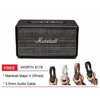 Marshall Stanmore Classic Speaker_BLACK (Free Marshall Major 2)